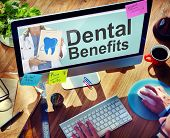 foto of medical  - Dental Plan Benefits Dentist Medical Healthcare Hygiene Concept - JPG