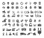 stock photo of ecology  - A set of recycle - JPG