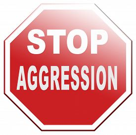 stock photo of stop fighting  - stop aggression and violence no fighting prevent Physical or verbal aggressivity - JPG