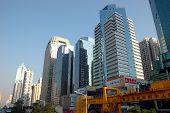 moderne Wolkenkratzer in Shenzhen, china