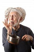 Funny Senior Chef