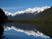 Snow Peak Over Mirror Lake