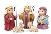 Bethlehem, shepherds and sheep