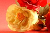 picture of keepsake  - valentine gift present offer rose red yellow beauty shapeliness nature still life mothers day holiday decoration bunch bouquet birth day weddings love flower keepsake - JPG
