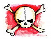 Crossbones Skull