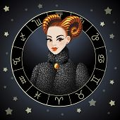 Aries. Zodiac sign