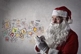 picture of letters to santa claus  - Santa Claus messages - JPG