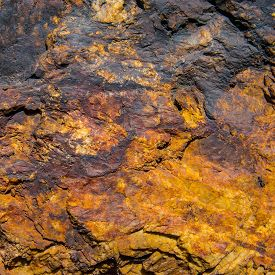 picture of iron ore  - surface mineral concomitant iron ore industrial iron ore mining - JPG