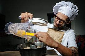 pic of pastry chef  - Chefs cooking pastry for charlotte - JPG