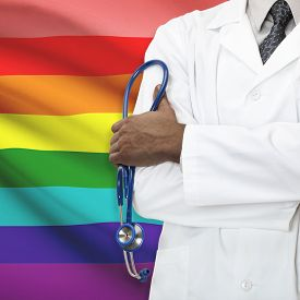 image of bisexual  - Concept of national healthcare system series  - JPG
