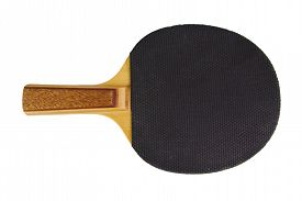 picture of ping pong  - Single black ping - JPG
