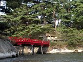 Japanese Red Bridge