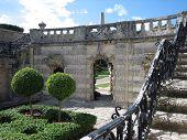 Garden Balcony At Vizcaya