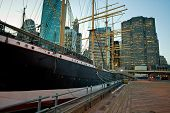 Wooden Berth In South Street Seaport