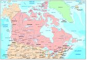 Picture of canada map.