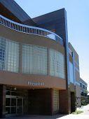 Krankenhaus-Eingang