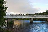 Railway Bridge At Perth