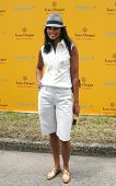 NEW YORK - JUNE 26: Fashion Designer Rachel Roy attends the Veuve Clicquot Polo Classic at Governor'