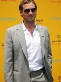 NEW YORK - JUNE 26: Actor Josh Lucas attends the Veuve Clicquot Polo Classic at Governor's Island on