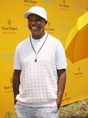 NEW YORK - JUNE 26: Actor Russell Simmons attends the Veuve Clicquot Polo Classic at Governor's Isla