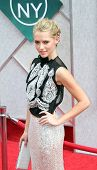 NEW YORK - JULY 6: Actress Teresa Palmer attends the premiere of