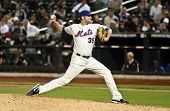 FLUSHING, NY - SEPTEMBER 15: New York Mets pitcher Bobby Parnell on the mound during a baseball game