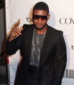 NEW YORK - SEPTEMBER 30: Singer Usher attends the Keep A Child Alive's Black Ball at the Hammerstein