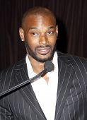 NEW YORK - OCTOBER 22, 2010: Supermodel Tyson Beckford was honored at the Black Retail Action Group'