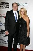 NEW YORK - NOVEMBER 30: Curt Schilling and wife Shonda attend the Sports Illustrated Sportsman of th