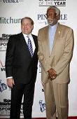 NEW YORK - NOVEMBER 30: Curt Schilling and Bill Russell attend the Sports Illustrated Sportsman of the Year Awards at the IAC Building on November 30, 2010 in New York City.