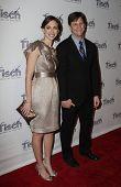 NEW YORK - Dezember 6: Lindsay Crystal Miller und Howie Miller The Face of Tisch Gala bei Fred besuchen