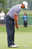 ORLANDO, FL - MARCH 23: Tiger Woods during a practice round at the Arnold Palmer Invitational Golf T