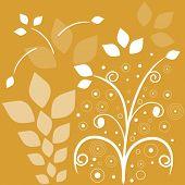 gold background filigree