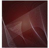 netting on maroon