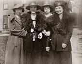 Ladies Day Out Antique Photo