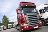 new trucks, latest state-of-the-arts with V8 engines