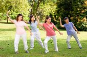 Outdoor Tai Chi poster