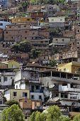 slum in the city of Rio de Janeiro