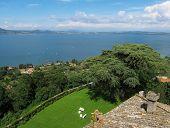 Lake Bracciano Panoramic View