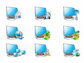 Computer And Icons