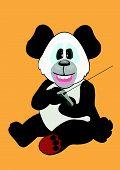 Panda Playing Remote.