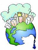 Melting Globe.eps