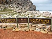 Sign Of Cape Of Good Hope