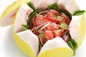 vietnamese pomelo salad, goi buoi