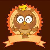 Coruja mascote