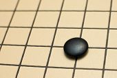 Detail Of Traditional Japanese Game Go