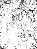 Distressed Overlay Texture Of Cracked Concrete, Stone Or Asphalt. Grunge Background. Abstract Halfto poster