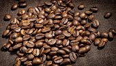 Aroma ,background, Bean ,black ,brown, Cafe, Caffeine ,canvas, Cappuccino, Close-up, Close-up Of Cof poster