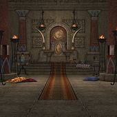 Fantasy Throne Room