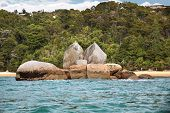 Split Apple Rock In The Abel Tasman National Park